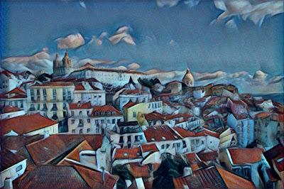 Lisboa - Miradouro das Portas do Sol_Cubisme