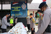 Pastikan Kesiapan Pelayanan pada Masyarakat, Wakapolda Sulsel Cek Dapur Lapangan TNI-Polri di Makosat Brimob