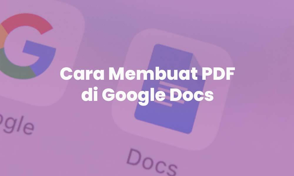 cara membuat pdf di google doc