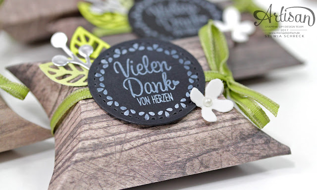 Pillow Boxen-Stampin up-Holzdekor