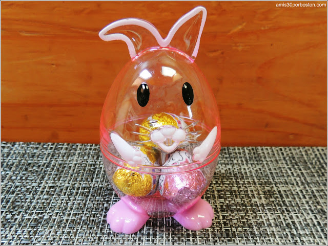 Conejo de Easter con Huevos de Chocolate