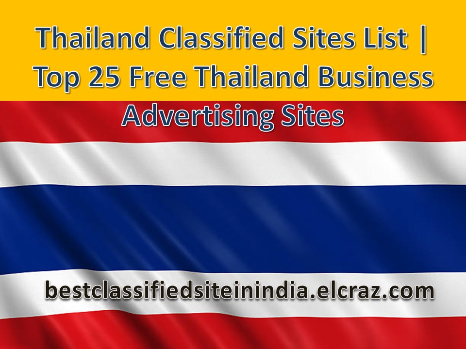 List of 25+ Best Free Thailand Classifieds Sites | Top 25