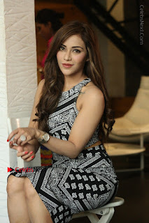 Telugu Actress Angela Krislinzki Latest Pos in Short Dress  0197.JPG