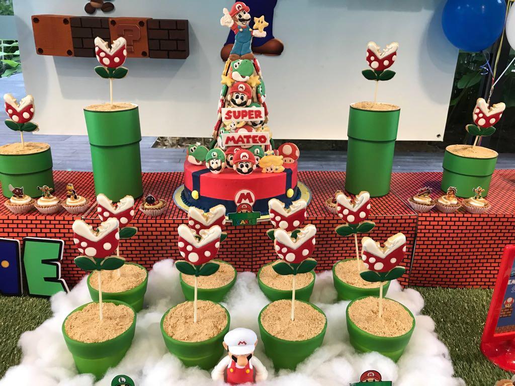 Crissa S Cake Corner Super Mario Cupcakes Cookies