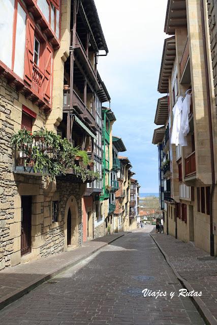 Calle Juan Laborda de Hondarribia