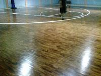 Parket Badminton, Lantai Bulutangkis, Lantai parket Futsal