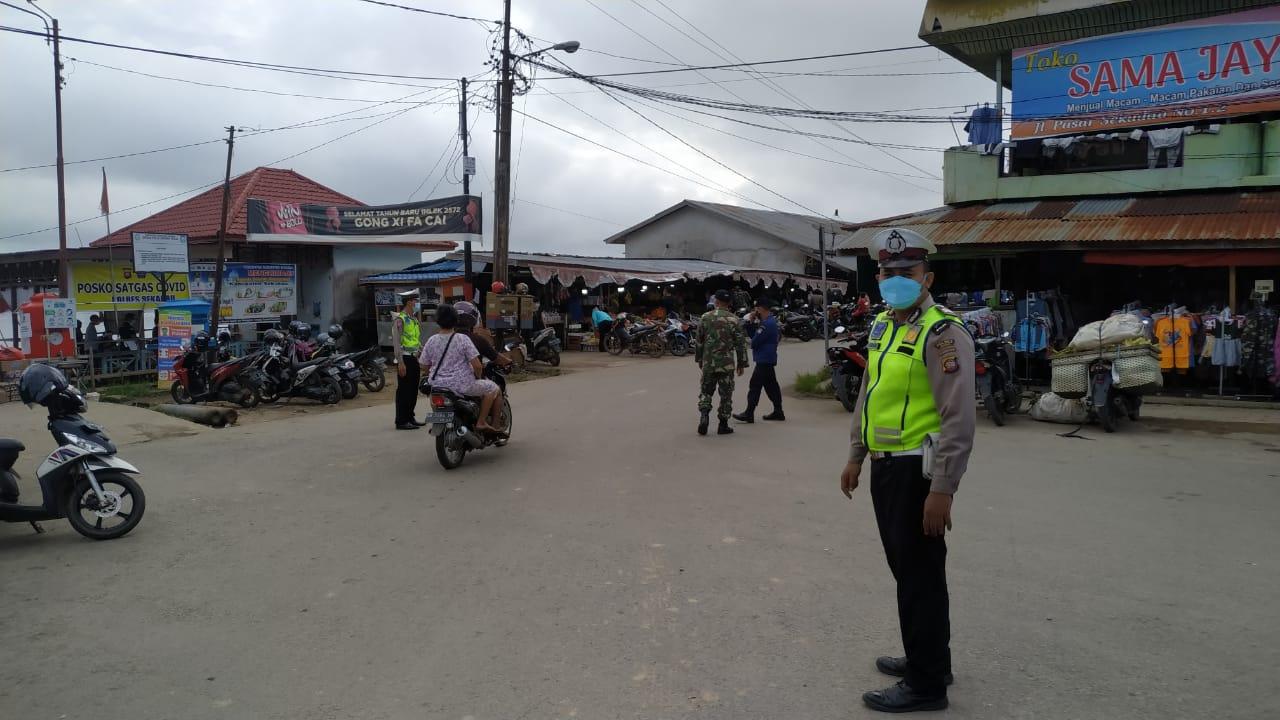 Satgas COVID-19 Kabupaten Sekadau Gelar Ops Yustisi, Upaya Pendisiplinan Prokes