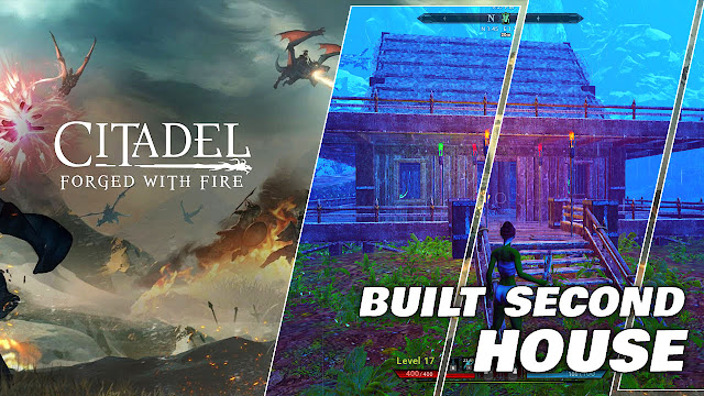 Built Second House, Citadel Forged with Fire Gameplay (on Low End PC)