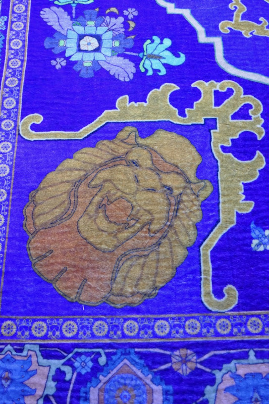 Magic carpet detail Aladdin