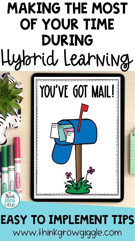 Hybrid learning teacher tips and ideas