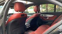 Mercedes C300 AMG 2018 đã qua sử dụng nội thất Đỏ