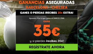 888sport ganancias aseguradas Barcelona vs Chelsea 14 marzo