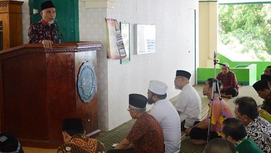 Wako Mahyeldi Berikan Tausiah di Universitas Muhammadiyah Bengkulu