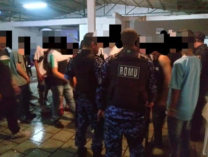 Guarda Municipal fecha festa irregular com menores e apreende drogas em Cachoeirinha