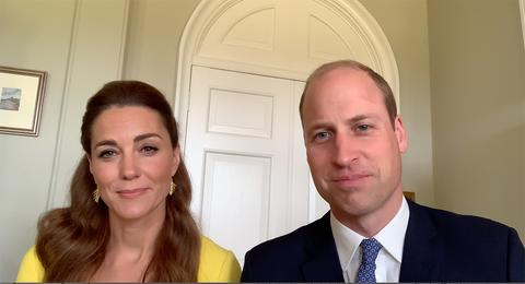 Kate i William na wideokonferencji z okazji First Responder Day oraz Volunteers' Week + więcej