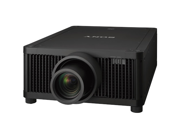 Sony Unveils Flagship 4K Professional SXRD Laser Projector for Large Display Applications