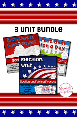 The presidential election is a great time to teach your elementary students about the election process, duties of the president, and the branches of government. #presidentialelection #2020election #branchesofgovernement