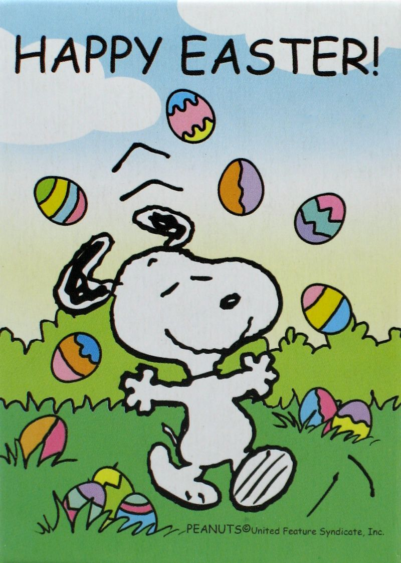 Snoopy Ostern Gif