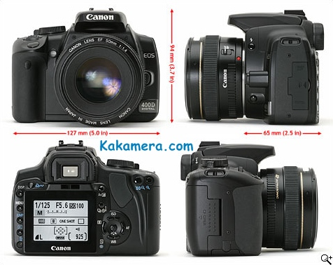 Harga Kamera Canon EOS 400D