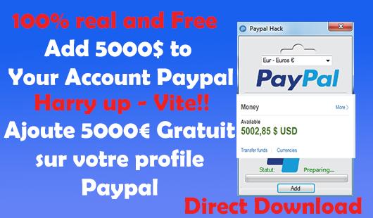 Paypal Money Adder V9 Exe. worth OKAPILCO ASPECTOS Myers vital mejores precio Jobs