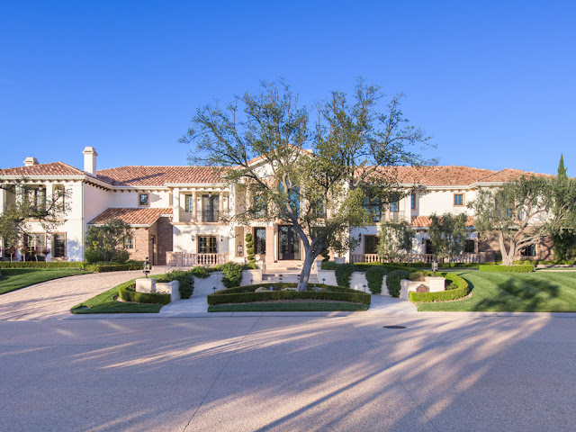 Old world elegance in this custom built masterpiece in the for Calabasas oaks homes for sale