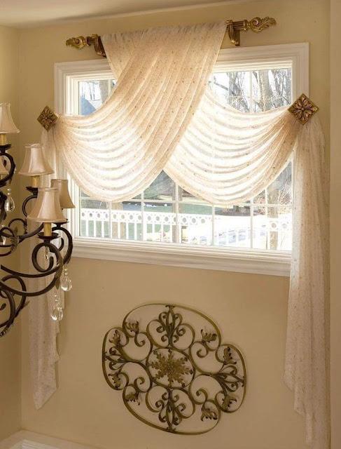 Formas originales de colocar cortinas - Formas de cortinas ...