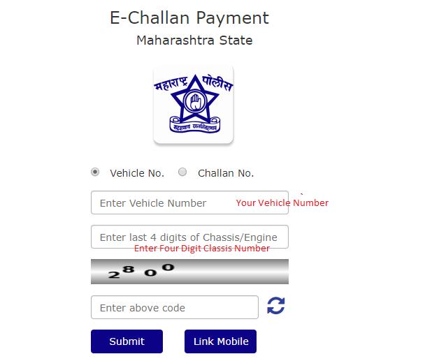 Mumbai Traffic Police e Challan