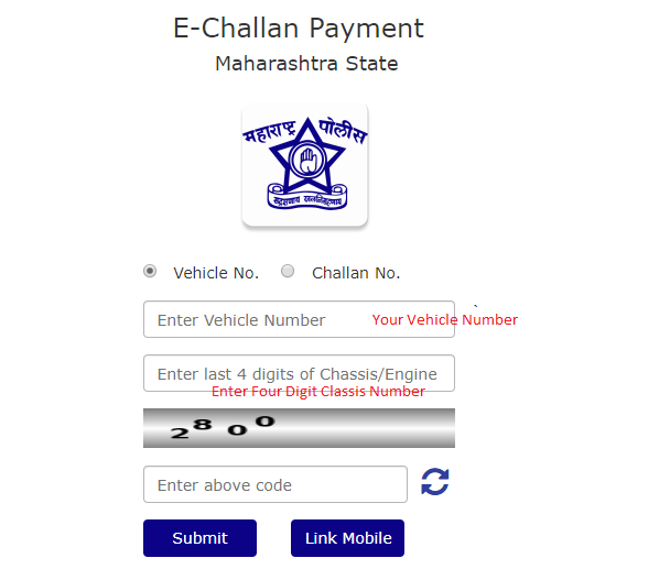 E Challan Payment Pune Traffic Police
