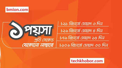Banglalink-109Tk-Recharge-1Paisa/Sec-Any-Number-24Hour-30Days