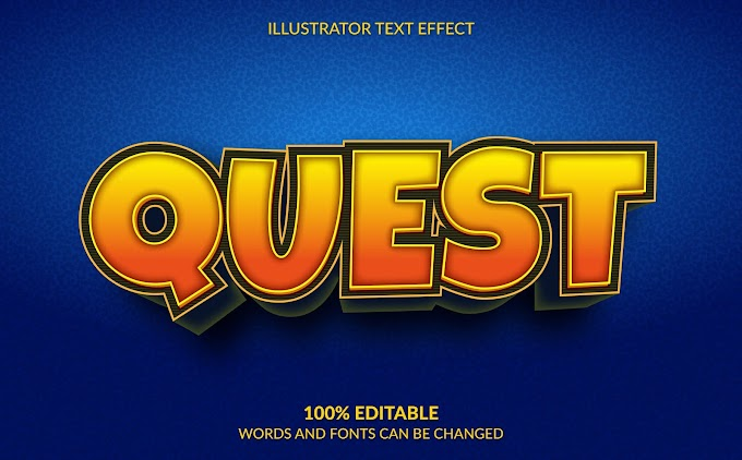 Quest Text Effect Ai