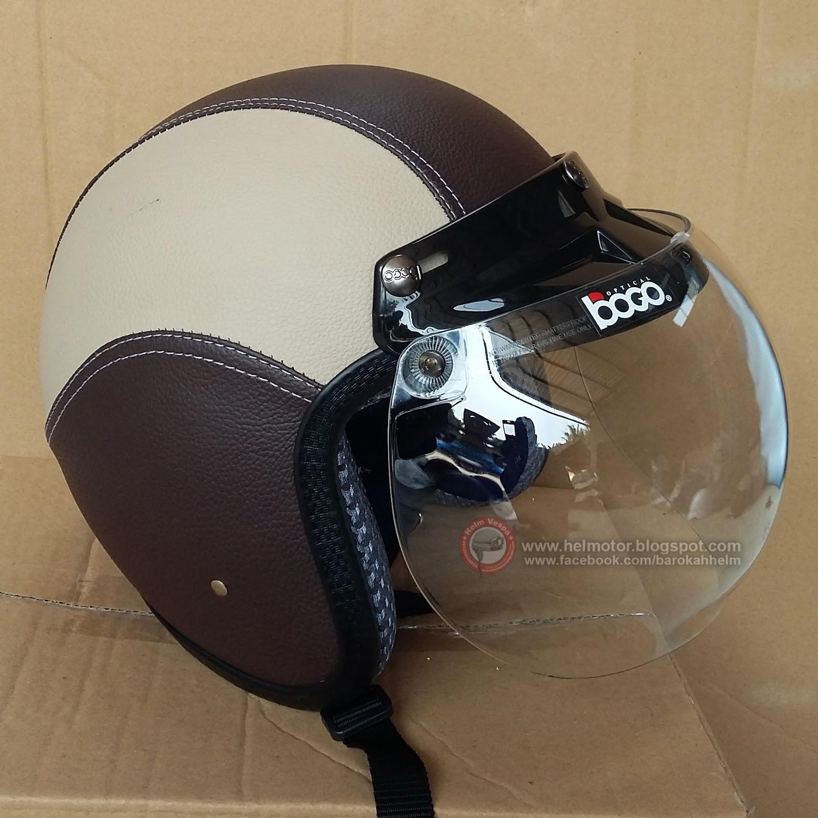 Helm Retro Bogo C307CT  Helm Vespa