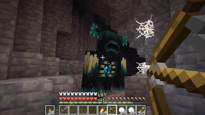 Como derrotar um Warden no Minecraft