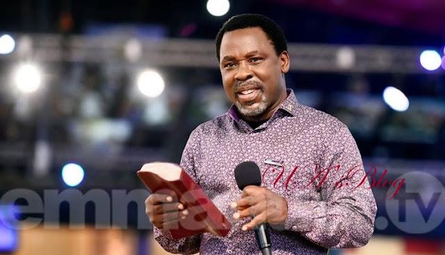Coronavirus: Prophet T.B Joshua Reveals Another Tragic Prophecy