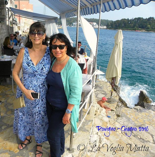 Linda & Chiara a Rovigno in Istria