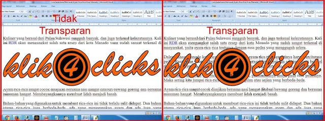Belajar Membuat Gambar, Tulisan, Logo Transparan Kurang Dari 5 Menit Untuk Pemula
