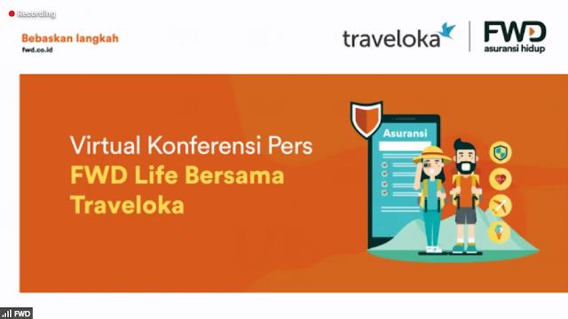 Traveloka bekerja sama dengan FWD