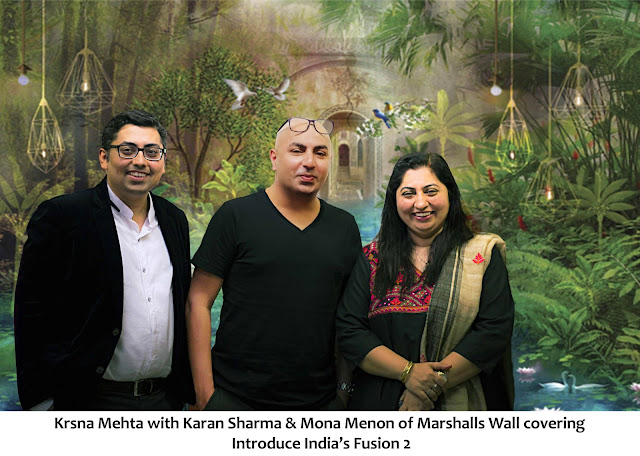 Marshalls Introduces India Fusion Designed by Krsna Mehta