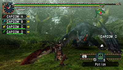 Monster Hunter Freedom United PSP on Android Apk Terbaru