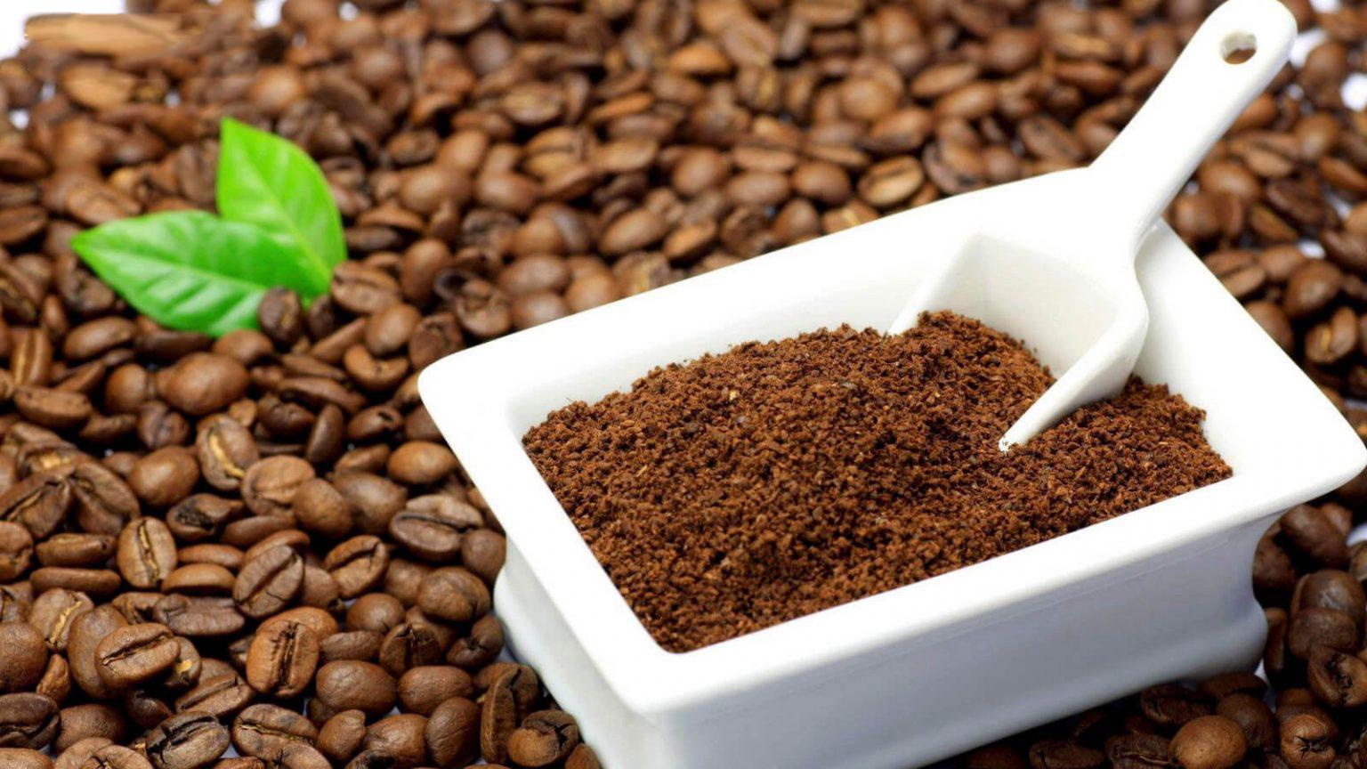 Tẩy da chết bằng bã cà phê