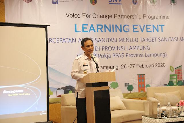 Viral Petang (26/02/2020) BANDAR LAMPUNG ----- Gubernur Lampung Arinal Djunaidi melakukan percepatan akses sanitasi yang layak dan aman sesuai dengan Visi dan Misi Gubernur yang tertuang dalam RPJMD Provinsi Lampung 2019- 2024. media online lampung