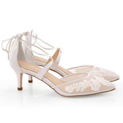Zapatos de novia bajitos