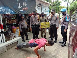 Tegaskan Perbup Nomor 42, Binmas Polres Enrekang Himbau Penggunaan Masker