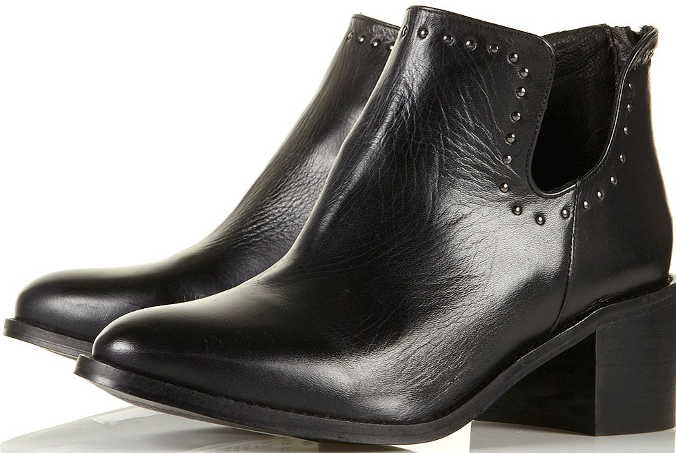 6bd4c6f6c345 Topshop- £85. These leather boots ...