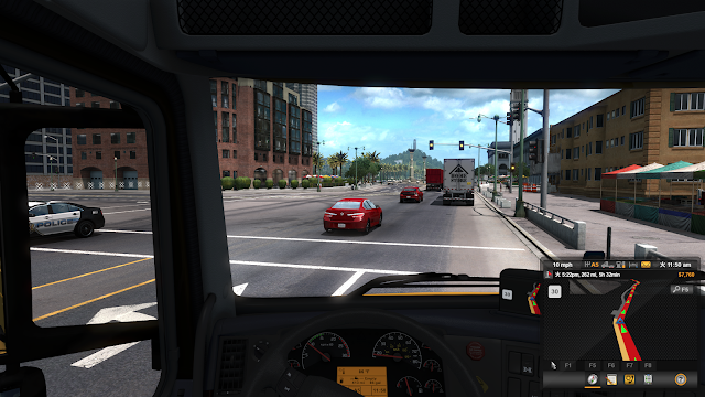 American Truck Simulatorプレイ画面スクショ4