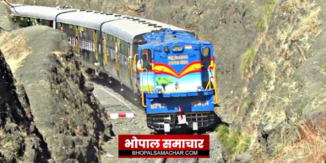 हेरिटेज ट्रेन में इंटरेस्ट नहीं ले रहे इंदौर के लोग, फिर बंद होने की कगार पर | INDORE NEWS