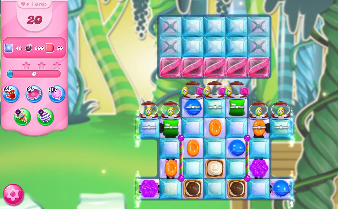 Candy Crush Saga level 6705