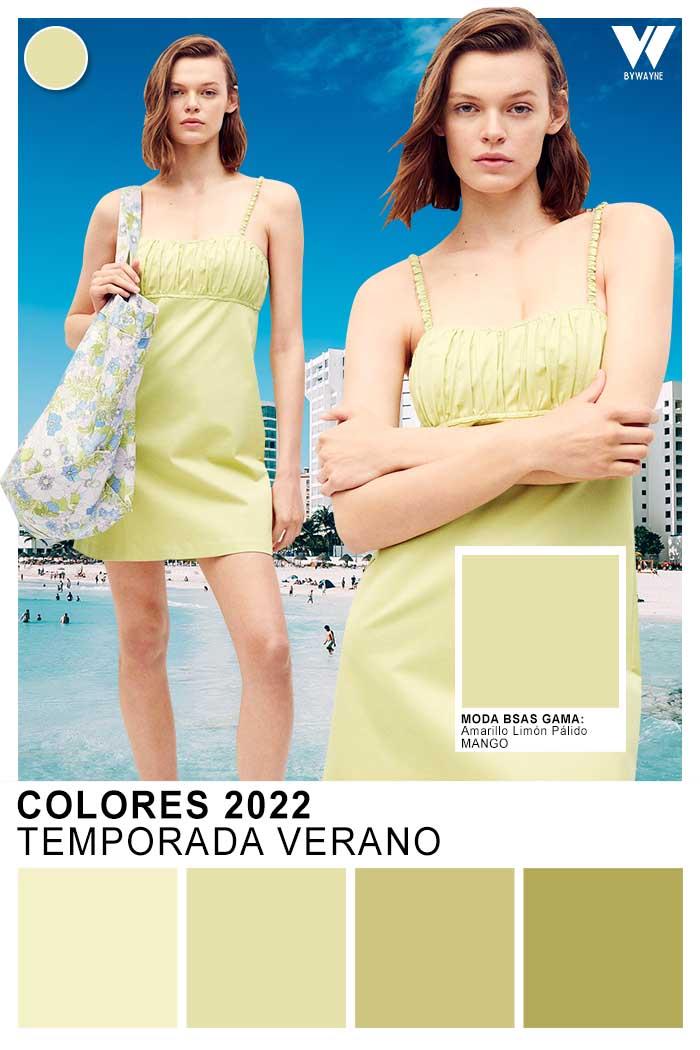 moda colores verano 2022 verde