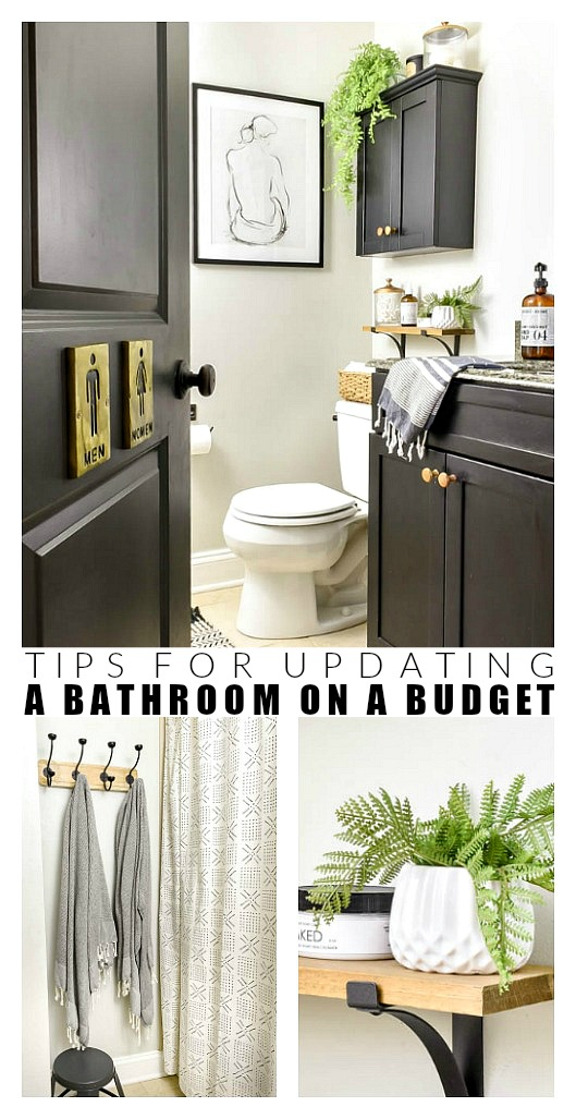 Budget friendly bathroom updates