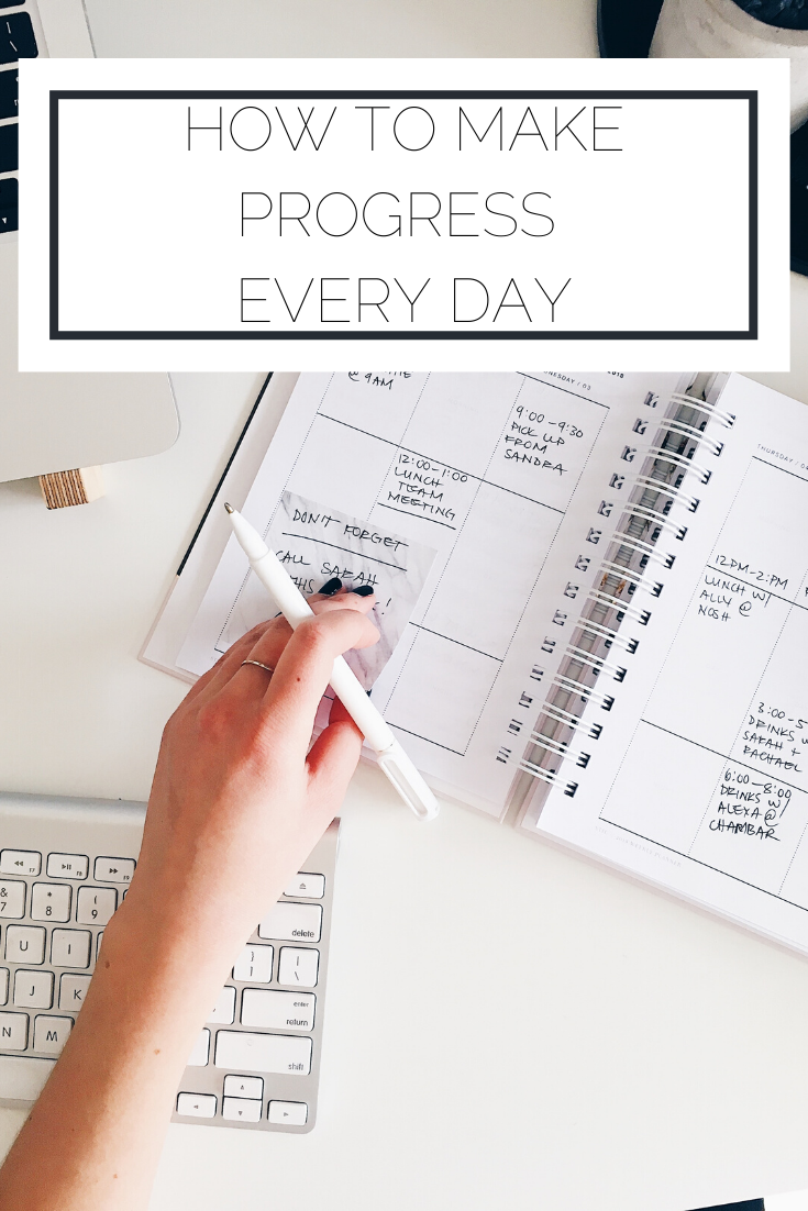 Click to read now or pin to save for later! Check out this one small tip you can use every day to ensure you're making progress