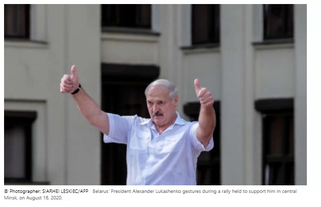 Russia supports Belarusian Lukashenko's constitutional reforms